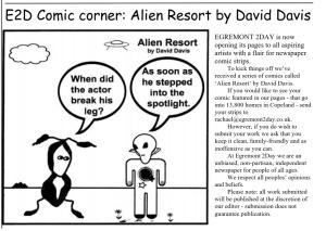 First Alien Resort comic outside of US