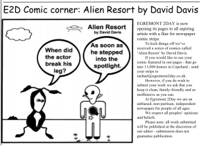 First Alien Resort comic outside of US