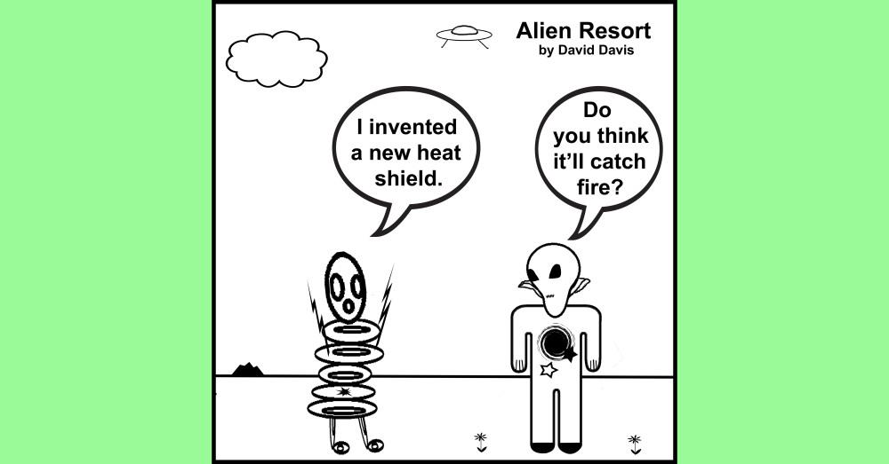 Alien Resort Comic of the Day