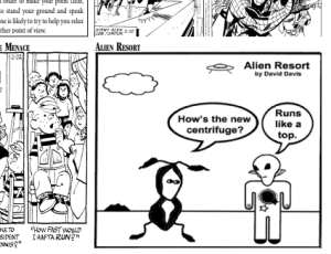 comics for Earth newspapers
